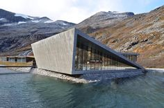 Trollstigen Mountain Lodge in Norway by Reiulf Ramstad Architects