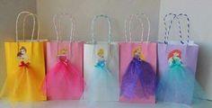 Sacola das princesas festa de aniversário, bela, aurora, bela adormecida, Cinderela, rapunzel, Ariel, pequena sereia | princess party