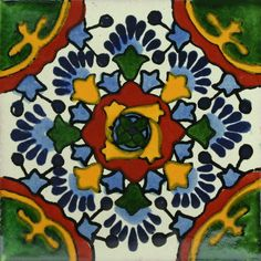 Traditional Mexican Tile - Nube - Mexican Tile Designs
