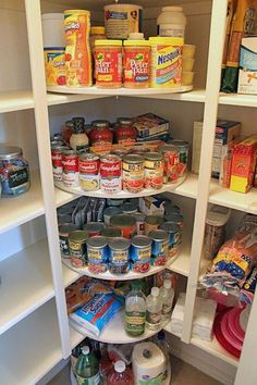 Lazy susans get the job done! | Pantry organization | DIY | pantry ideas | Ultimate Closet Systems #pantryorganizationdiy