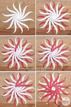 DIY Paper Balls With Template. beautifulchristmasdecorations - DIY Paper Balls With Template. beautifulchristmasdecorations DIY Paper Balls With Template. Origami Ornaments, Paper Christmas Ornaments, Handmade Christmas Decorations, Paper Decorations, Christmas Crafts, Valentine Crafts, Instruções Origami, Paper Crafts Origami, Creative Crafts