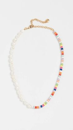Fall jewelry trends - Pearl and Multi Beads Necklace – Fall jewelry trends Fall Jewelry, Diy Jewelry, Beaded Jewelry, Jewelery, Jewelry Accessories, Handmade Jewelry, Jewelry Design, Fashion Jewelry, Jewelry Making