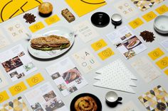 Artigiano   Delivered By Post corporate identity stationary branding folder flyer packaging logo graphic design napkins