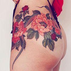 いいね!106件、コメント1件 ― Graceさん(@grace_kirkby)のInstagramアカウント: 「#tattooinspiration by @yuuztattooer via @thefadmia 」