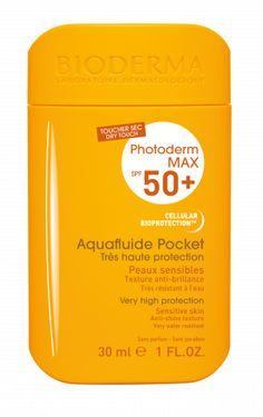 Bioderma - Crème solaire toucher sec pocket Photoderm - Birchbox Crema Solar, Fragrance Parfum, Tips Belleza, Vaseline, Texture, Mac Cosmetics, Sensitive Skin, Budgeting, Beauty Hacks