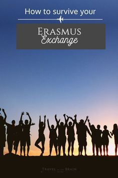 How to Survive Your First Erasmus Exchange - Travel on the Brain Work Abroad, Study Abroad, Semester At Sea, Student Travel, Culture Shock, Travel Icon, Study Motivation, Feeling Overwhelmed, Wanderlust Travel