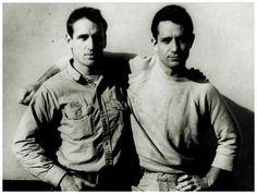 Jack Kerouac & Neal Cassady.