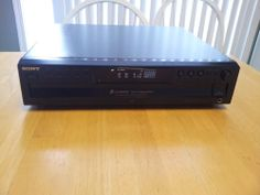 Sony CDP-CE375 CD 5 Disc Changer Headphone  Fader Repeat ~ WATCH DEMO VIDEO