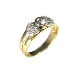 This is abezel and two paves pallets ring in a bow tie with heart finish design set with diamonds. The ring is set with 11 diamonds a round brilliant cut, white color in ranges of G-H, clarity is eye clean in ranges of VS-SI, total carat weight 0.13.What's my ring size?>>