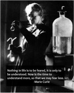 Marie curie (1867 – 1934) famous scientist, won two Nobel prizes, famous for her work with her husband on radioactivity, discovered radium and polonium