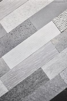 """These tiles would work beautifully as a kitchen backsplash! """"Handsome volcanic basalt sourced from Indonesia or Mongolia is a less expensive stone to work with. Individually, these bespoke finishes from Classic Tile & Mosaic are priced about $12 per square foot."""""""