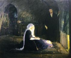 Henry Ossawa Tanner,The Holy Family, c. 1090-1910, oil on canvas, Muskegon Museum of Art