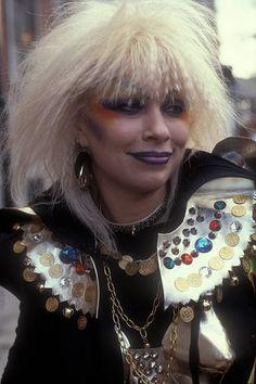 Jane Kahn fashion designer London 1981