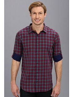 Double-Faced Plaid Shirt from Elie Tahari