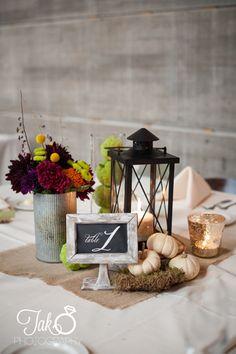 Natural, Rustic, Fall wedding decor