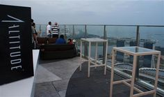 A drink with a view: 1-Altitude | Travelfish on Singapore    With 360-degree sky dining view, the latest creation of the 1 Rochester Group, 1-Altitude is definitely a strong contender for the restaurant with the best view in Singapore. Looking for a place to party after work? Check out the world's tallest al fresco rooftop bar 1-Altitude.    1 Raffles Place Level 62  One Raffles Place (OUB Centre) Singapore  Tel: +65 6438 0410