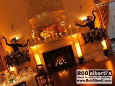 The New Haven Lawn Club Wedding Reception Lighting -IMG_8516