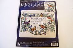 Leisure Arts Roots and Wings Counted Cross Stitch 113982 Verse NIP Unopened