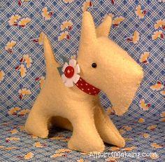 sewing, animals, dog