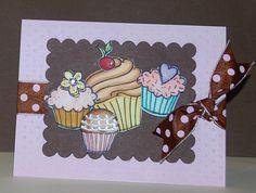 Cupcake birthday card   Flickr - Photo Sharing!