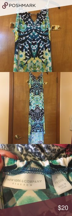 NY&Co. | high-low dress Worn once, NY&Co high-low dress. Size small petite. I'm 5'3 and this dress was the perfect length. Perfect condition. New York & Company Dresses High Low