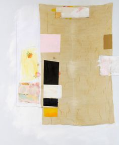 Rick Begneaud,  Fable of the Loan   67 x 50  mixed media on canvas over panel