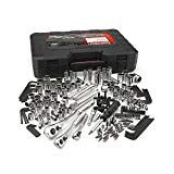 """Craftsman 230 Piece tool set with a bonus 8 piece Bonus hex to socket adapters and 5 - drive hex sockets) – New – """"Tools Only"""" NO CASE. The Craftsman An array of six combination wrenches let you slip in where the ratchet won't go. Hand Tool Sets, Hand Tools, Woodworking Tools For Beginners, Garage Kits, Garage Shop, Sears Craftsman, Mechanic Tools, Hex Key, Wrench Set"""