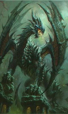 Tagged with wallpaper, dragon, fantasy; Dragons, and some other fantasy related wallpapers dump Dragon Medieval, Dragon Illustration, Cool Dragons, Dragon Artwork, Dragon Pictures, Fantasy Monster, Mythological Creatures, Magical Creatures, Fantasy Artwork