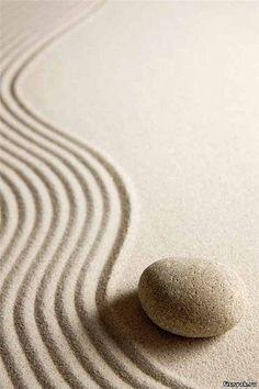Zen Sand garden