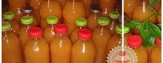 Házilag készített italok (Kubu), rostos gyümölcslevek... Hot Sauce Bottles, Smoothies, Baking, Vegetables, Drinks, Food, Coffee, Preserve, Smoothie