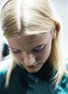 cecilie deisting at ,Backstage at Whyred S/S 2014