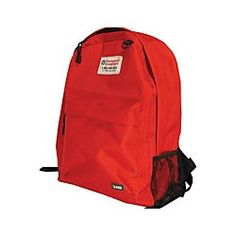 Emergency Essentials medium backpack.  Use this backpack for many of your preparedness needs: an emergency kit, car kit, or to hold items on a short day hike. Also great for everyday use. $7.95 medium backpack, bag