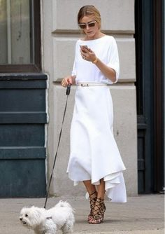 How to rock White Dress