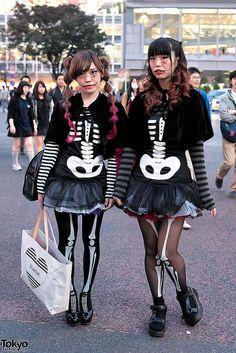 Halloween Costumes in Shibuya from Tokyo Fashion