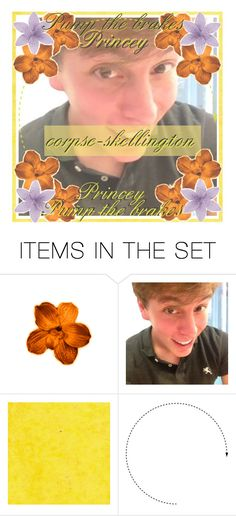 """""""*angry voice* PUMP THE BRAKES PRINCEY"""" by patiblb ❤ liked on Polyvore featuring art and corpseiconcontest"""