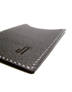 PIN it ti WIN it!! REPIN this to be entered to win one of our monogrammed card cases !! #giveaway closes July 15th. Spread the love!   www.sakao.etsy.com  Monogrammed Charcoal Leather Card Case Vertical gray by sakao, $45.00