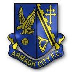 Armagh City F. Soccer Teams, Football Team, British Football, Armagh, Crests, Northern Ireland, Badges, Irish, San