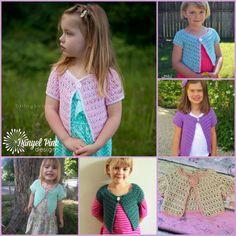 Danyel Pink Designs: New Design: Cotton Candy Cardigan