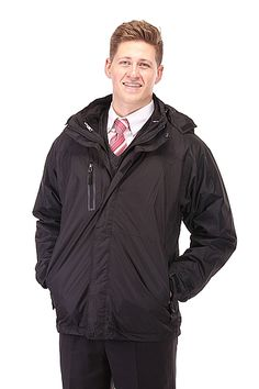 332f55b13dd52 Hooded Parka with Fleece for LDS Missionaries