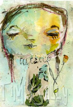 Daydream.......aceo by mindy lacefield by mindylacefield on Etsy