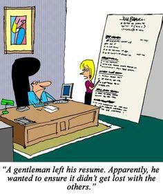 Resumes #Humor #resume #application