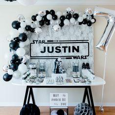 Justin's Star Wars Party - Star Wars