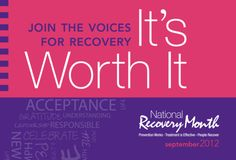 September is National Recovery Month (Recovery Month) is a national observance that educates Americans on the fact that addiction treatment and mental health services can enable those with a mental and/or substance use disorder to live a healthy and rewarding life.