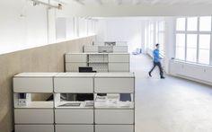 Modulare Büroeinrichtung, Möbelbausystem, maipr | System 180