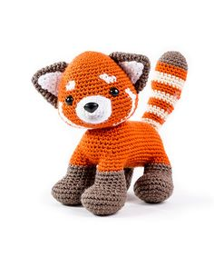 Zoomigurumi 6 - Rudy the red panda by Little Muggles - Amigurumipatterns.net
