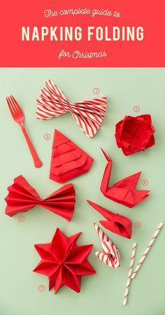Holiday Napkin Folding