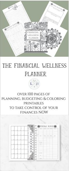 Wherever you are in your financial journey the most critical step in gaining control of your financial future is just to start. Planning, Budgeting, Saving & Debt Printables to help your family finances. Start now with the 2018 Financial Wellness Planner and start your path to Financial Wellness.