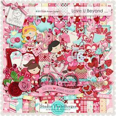 "Photo from album ""LoveUBeyond"" on Yandex. Digital Scrapbooking Freebies, Digital Scrapbook Paper, Digital Papers, Scrapbook Embellishments, Free Prints, Printable Paper, Loving U, Paper Crafts, Clip Art"