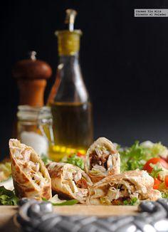 Directo al Paladar - Rollitos de pollo y salsa de anchoas. Receta fácil
