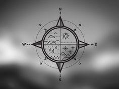 W.N.E.S - Weather compass by Zebastian Zattberg